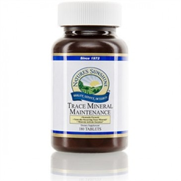 Trace Mineral Maintenance (180 tabs)