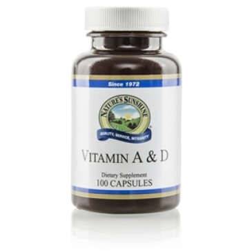Vitamin A & D (10,000/400 IU) (100 softgel caps)