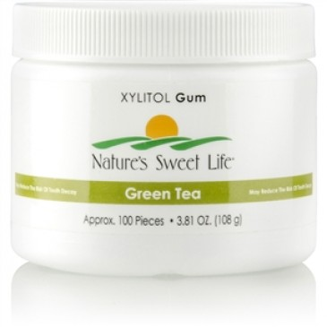 Xylitol Gum (Green Tea) (100)