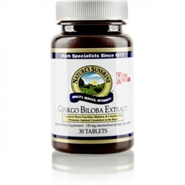 Ginkgo Biloba Extract T/R (30 tabs)
