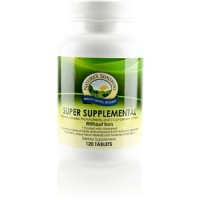 Super Supplemental Vitamin & Mineral w/o Iron (120 tabs)