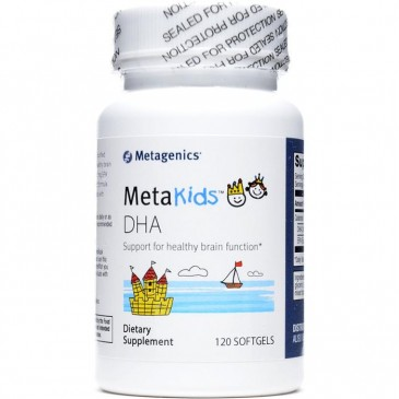 MetaKids DHA (formerly DHA Children's) 120 softgels