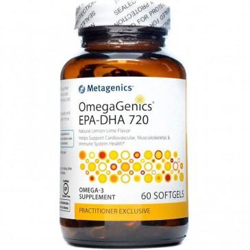 OmegaGenics EPA-DHA 720 Lemon 60 softgels
