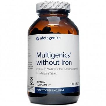 Multigenics without Iron 180 tabs