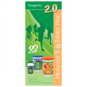 Healthy Body Start Pak 2.0 Trifold Brochure -25 ct