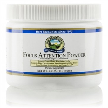 Focus Attention Powder (3.3 oz.)