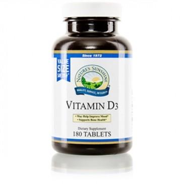 Vitamin D3 Value Size (180)