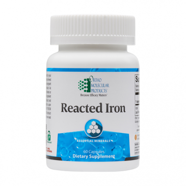 Reacted Iron - 60 Count