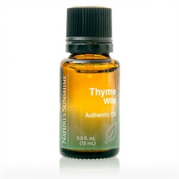Thyme, Wild Essential Oil (15 ml)