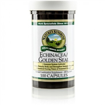 Echinacea/Golden Seal (100 caps)