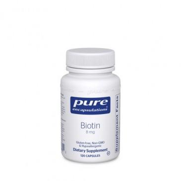 Biotin 8 mg. 120 vcaps