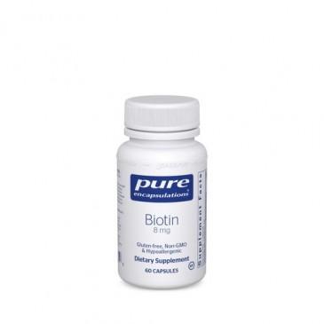 Biotin 8 mg. 60 vcaps