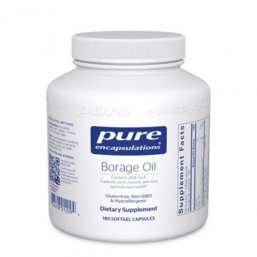 Borage Oil 1,000 mg 180 vcaps