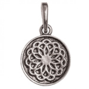 Silver Flower Droplet