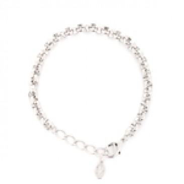 Nickel-Free Silver Rolo Bracelet