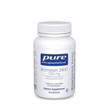 Bromelain 2400 500 mg. 60 vcaps