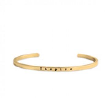 Inspire Gold Cuff