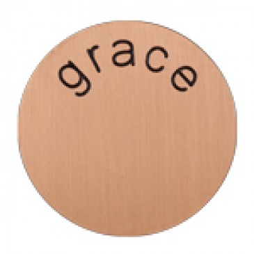 Grace Medium Rose Gold Coin