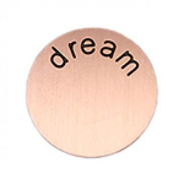 Dream Medium Rose Gold Coin
