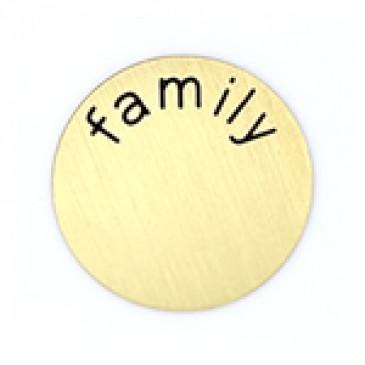 Family Medium Gold Coin