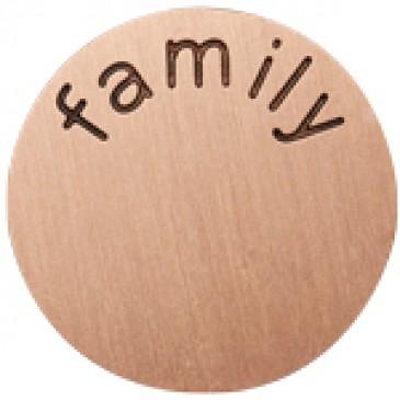 Family Medium Rose Gold Coin