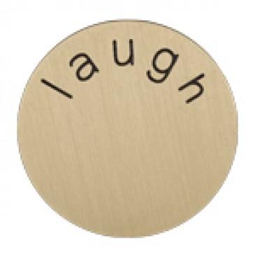 Laugh Medium Gold Coin