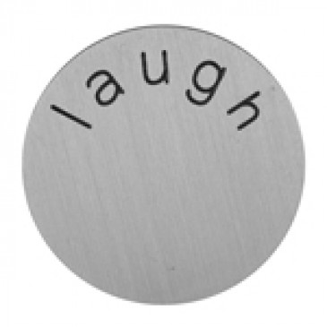 Laugh Medium Silver Coin