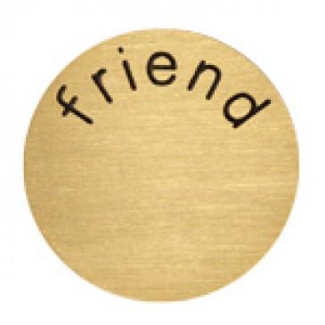 Friend Medium Gold Coin