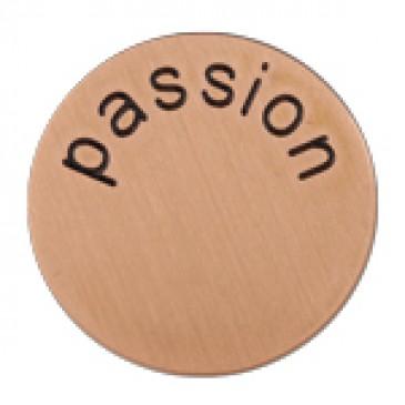 Passion Medium Rose Gold Coin