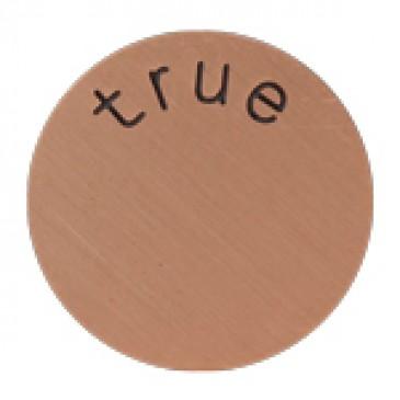 True Medium Rose Gold Coin