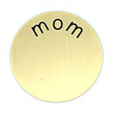 Mom Medium Gold Coin