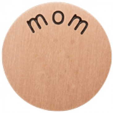 Mom Medium Rose Gold Coin