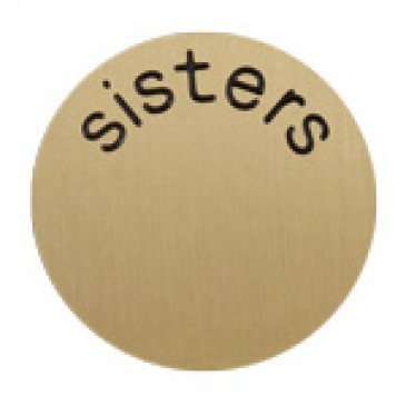 Sisters Medium Gold Coin