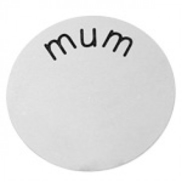 Mum Medium Silver Coin