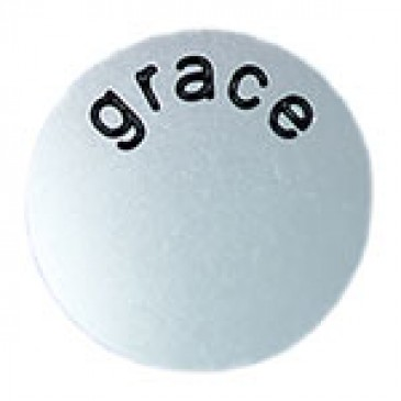Grace Large Silver Coin
