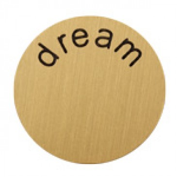 Dream Large Gold Coin