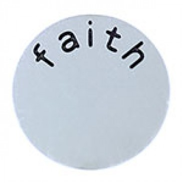 Faith Large Silver Coin