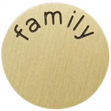 Family Large Gold Coin