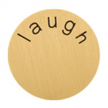 Laugh Large Gold Coin