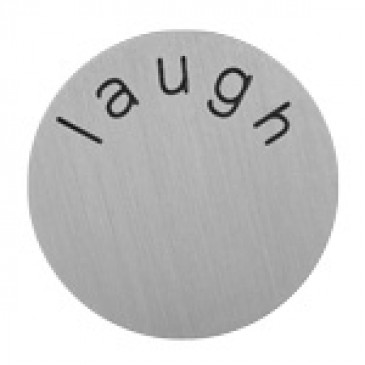 Laugh Large Silver Coin
