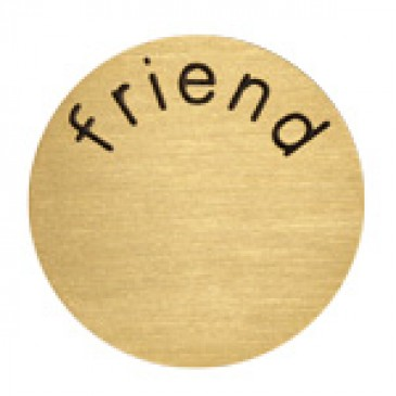 Friend Large Gold Coin
