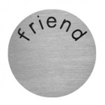 Friend Large Silver Coin