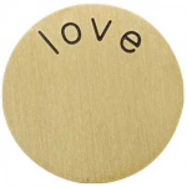 Love Large Gold Coin