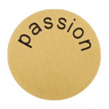 Passion Large Gold Coin