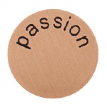 Passion Large Rose Gold Coin