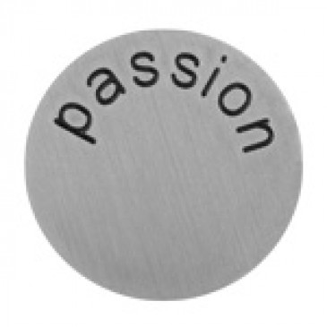 Passion Large Silver Coin