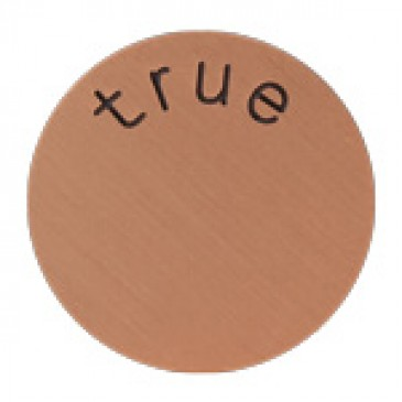 True Large Rose Gold Coin