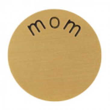Mom Large Gold Coin