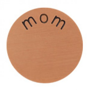 Mom Large Rose Gold Coin
