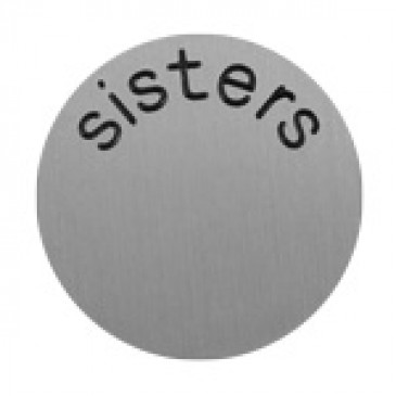 Sisters Large Silver Coin